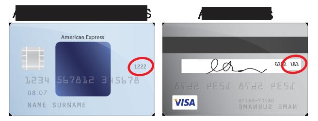 Credit Card CCV Help
